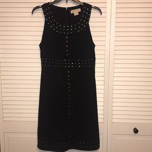 Michael Kors Black Dress with Silver Studs